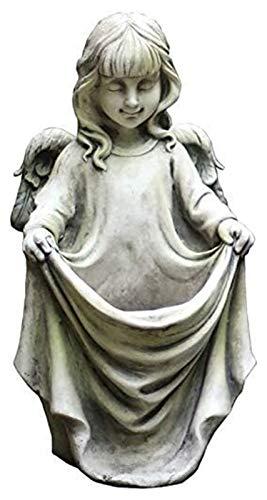 Escultura de escritorio Jardín angel alas escultura artesanía arte estatua decoración casera decoración accesorios jardín al aire libre jardín adornos arte figurines