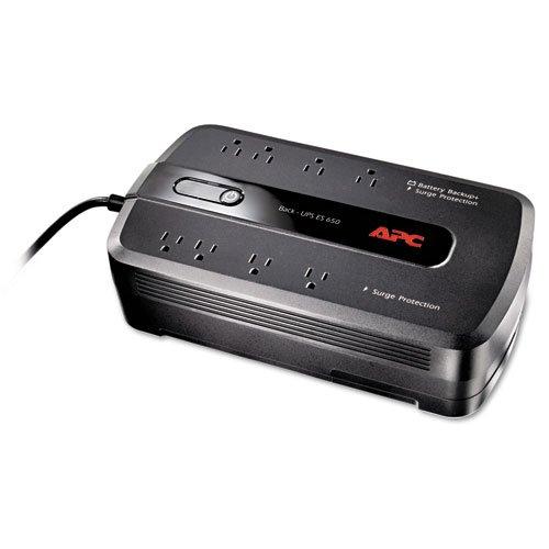 Back-UPS ES 650 Battery Backup System, 650VA, 8 Outlets, 365 J, Sold...