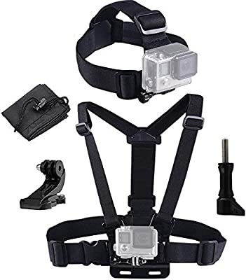 Caliban Straps, Mount, Harness Compatible with All Gopro and Most Action Cameras by SHENZHEN XTW ELECTRONIC CO. LTD