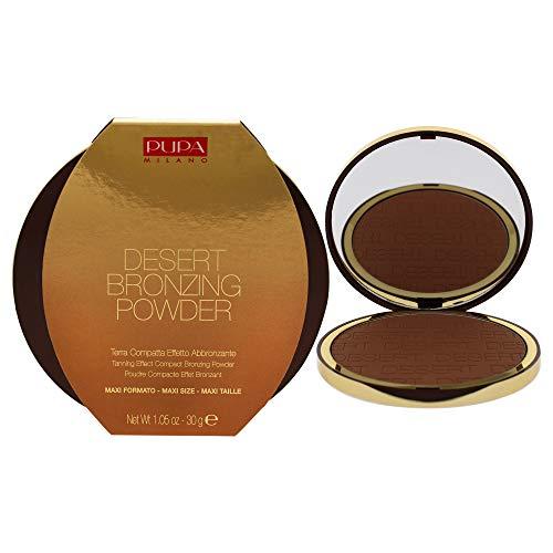 PUPA Milano Poudre Bronzante du Désert 003 Amber Light pour Femme 1,05 oz 31,05 ml