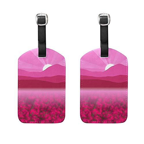 Luggage Tags Octopus Suitcase Labels Travel Accessories Size 2.2 X 3.7 inches ID32024