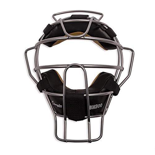 Champion Sports Ultra Lightweight Baseball Umpire Face Mask, Silver