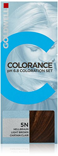Goldwell Colorance pH 6,8 Tönungsset 5/N Hellbraun, 1 Stück