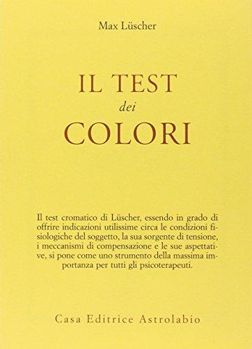 Il test dei colori - con le carte colorate per il test