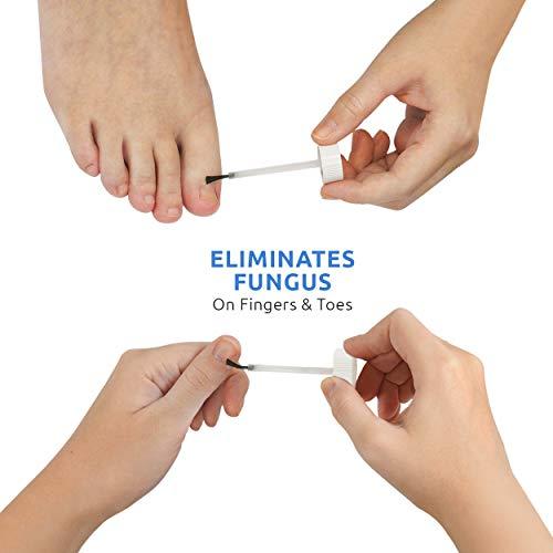Comfort Zone Anti Fungal Liquid Solution, Eliminates Fungus on Fingers, Toes & Around Nails, 1 FL OZ (30ml)