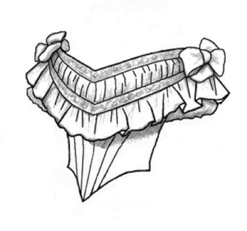 1860s Ballgown Bodice Pattern