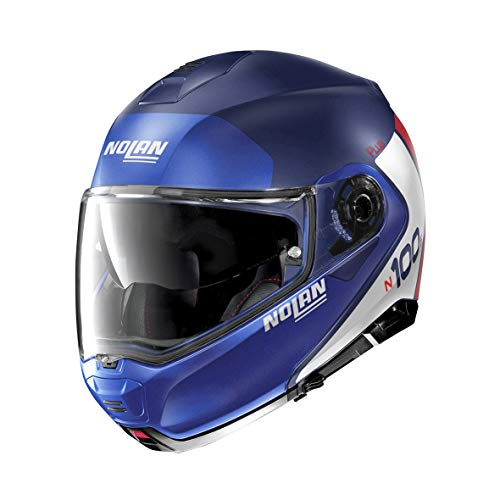 Nolan Herren N100-5 Helmet, Flat Imperator Blue, M