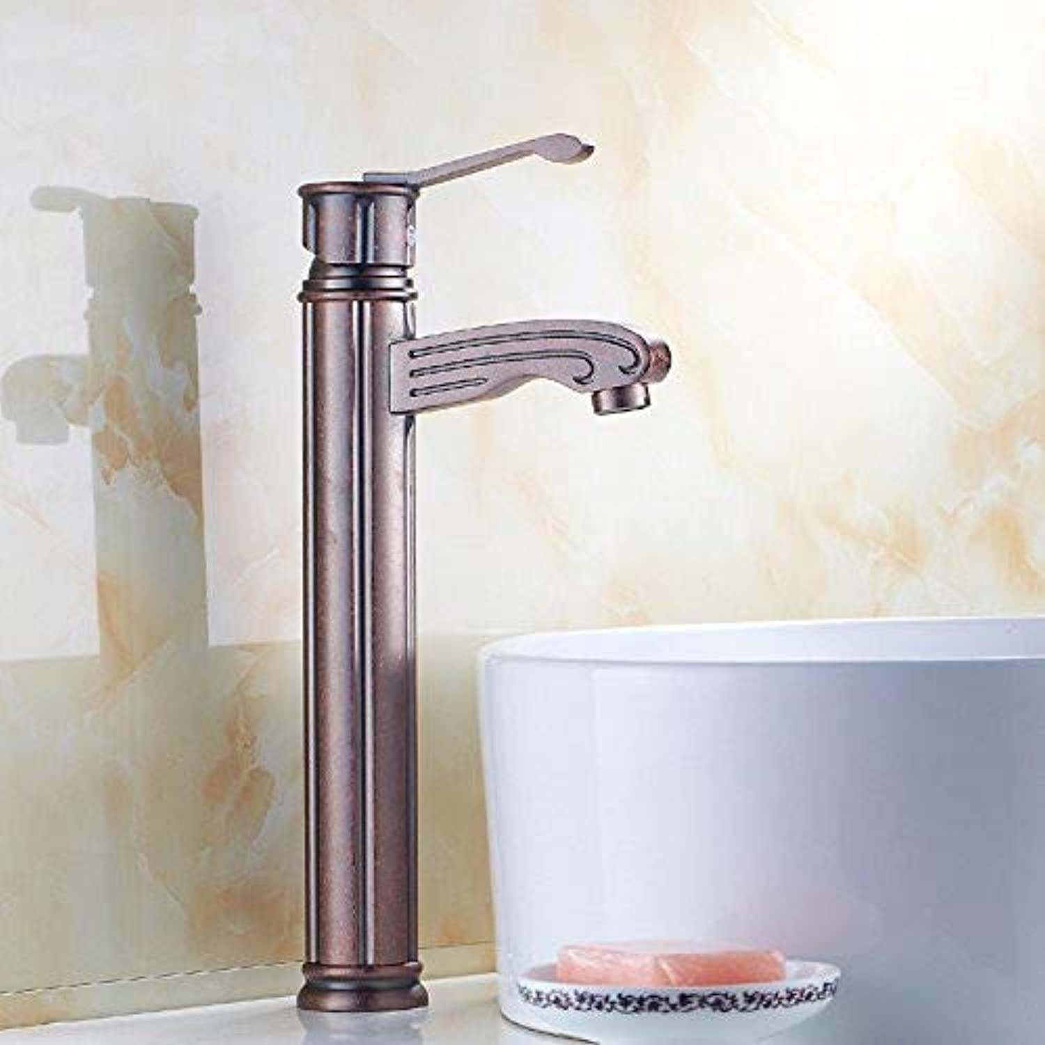 YEYEIG Taps Taps Water Tap Antique Kitchen Faucet Cold And Hot Bathroom Sink Faucet Basin Faucet