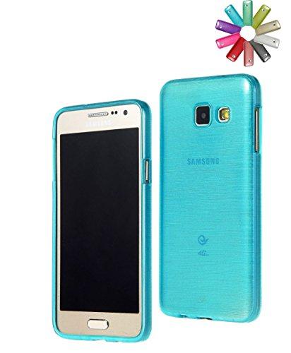 BRALEXX 2654-#1964 TPU Schutzhülle für Samsung Galaxy A3-2016 blau