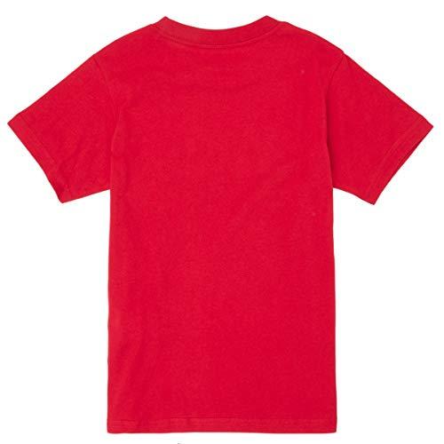 Vans Classic Boys T-Shirt, Peperoncino Bianco, M Bambino