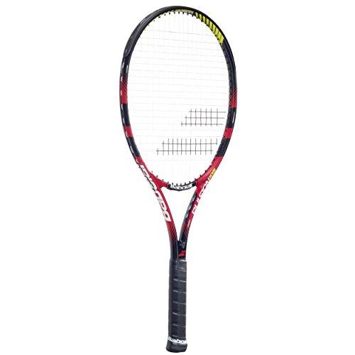 BABOLAT Pulsion 105 Nero/Rosso Racchetta da Tennis, G4 = 4 1/2