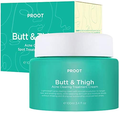 Butt Thigh Acne Clearing Spot Treatment Cream Clears Acne Pimples Ingrown Hairs Blackheads Zits product image
