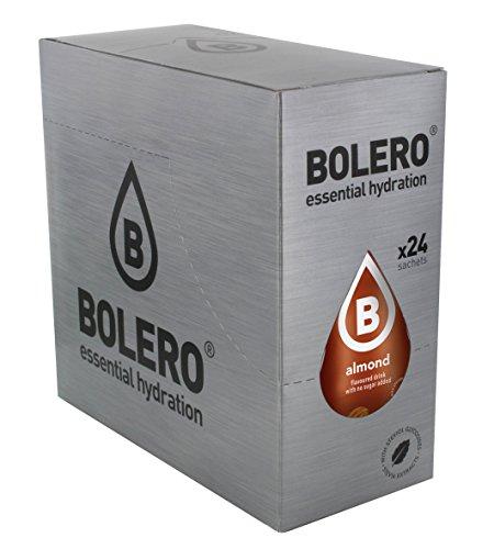 Bolero Bebida Instantánea sin Azúcar, Sabor Almendra - Paquete de 24 x 9 gr - Total: 216 gr