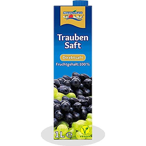 Niederrhein Gold Concentrado de zumo de uva rojo en tetrapack 1000 ml