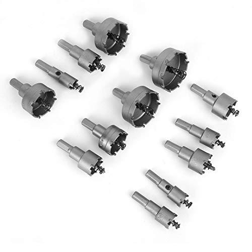 Herramientas eléctricas Juego de brocas para taladro de sierra, cortador de engranajes de 16-53 mm para taladros eléctricos verticales de mano