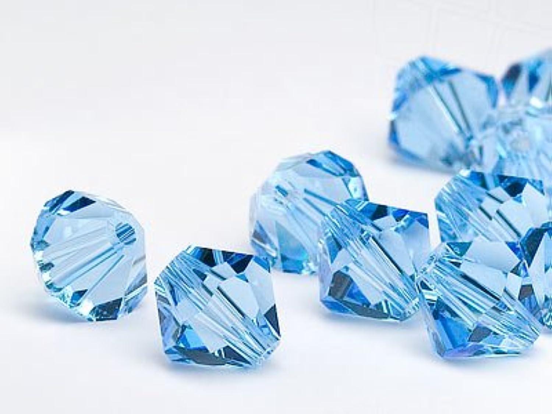 gran venta Swarovski Swarovski Swarovski Perlas de Cristal Elements Cono Doble 4mm (Aquamarine), 480 Piezas  Precio al por mayor y calidad confiable.