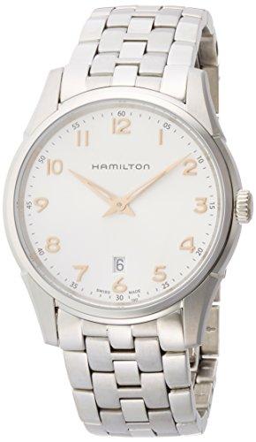 Hamilton Orologio Analogico Quarzo Uomo con Cinturino in Acciaio Inox H38511113