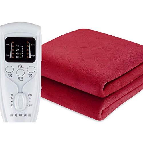 TLYS Servicios Alojamiento Manta eléctrica, Doble Doble del Control - Apagado Programado...