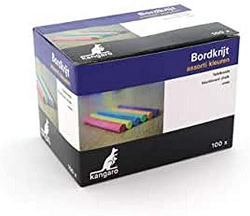 Tafelkreide Kangaro sortierte Farben Box 100St, K-N100C