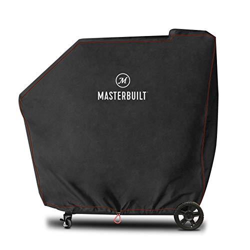 MasterBuilt Gravity Series 560 Digital Charcoal Grill + Smoker Wetterschutzhülle, Schwarz