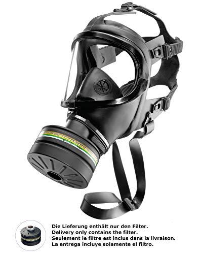 Dräger Rd40 Zivilschutz-Filter der Schutzklasse A2B2E2K2-P3 R D/NBC (Schwarz) für Gase, Dämpfe, Partikel   1 STK.   Kombinations-Filter für Vollmaske CDR 4500 - 4