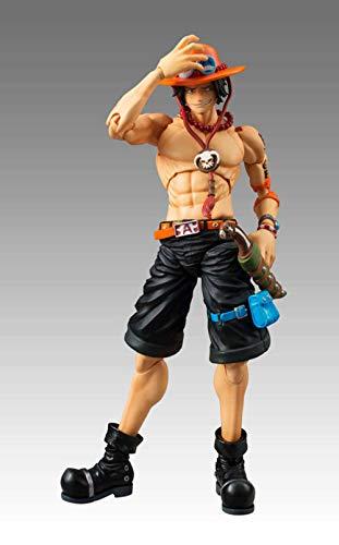 MNZBZ Anime Hand Made One Piece Feuer Faust Ace Gelenke Bewegliche Boxed Handpuppe Dekoration Modell Sammlung