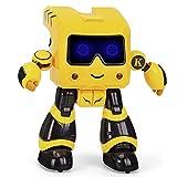 MUMUMI Robot de Control Remoto de Juguete Educativo para niños Programable Interactivo Educación temprana Canto y Baile RC Robot con luz para 4 5 6 7 8 9 años niños niños y niñas