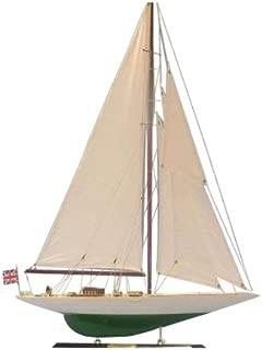 Hampton Nautical  Shamrock Sailboat, Limited Edition, 27