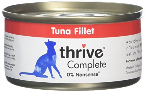 Thrive Cat Complete Food - Tuna Fillet 75g. (Pack of 6)