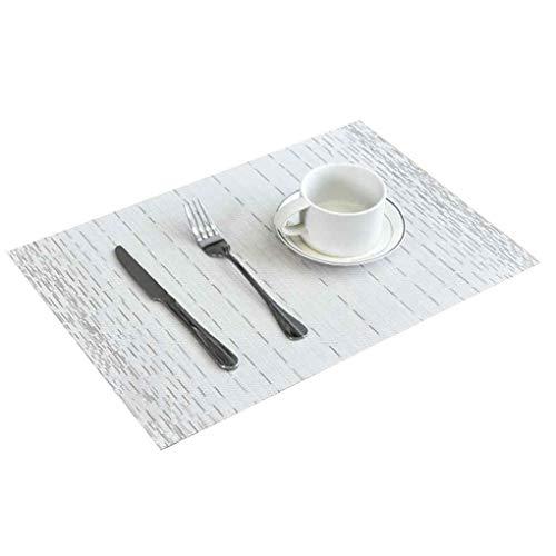 Pegcduu Diseño Simple de la Estera de Tabla ecológico Tabla PVC Comedor...