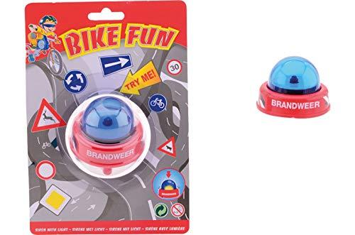 Smart-Planet® Fahrradsirene - Feuerwehr Niederlande Fahrradklingel - Sirene Bike Fun - lustige Feuerwehrsirene für Kinder - Fahrrad Klingel für den Fahrradlenker