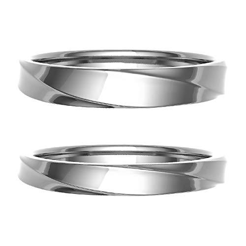 [ココカル]cococaru ペアリング 結婚指輪 プラチナ Pt900 2本セット マリッジリング 日本製 (レディースサイズ10号 メンズサイズ3号)