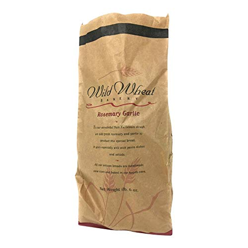 Wild Wheat Bakery, Bread Rosemary Garlic, 10 Ounce