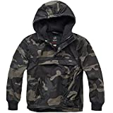 Brandit Kids Windbreaker darkcamo - L (146/152)