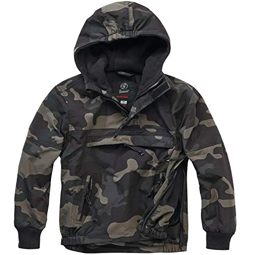 Brandit Kids Windbreaker darkcamo - M (134/140)