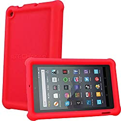 """Specially designed with a super snug yet unobtrusive fit ONLY for the 9th Generation, 2019 released all new Amazon Fire 7"""" and Fire Kids Edition 7"""" tablets. It will not fit ANY other Amazon 7"""" tablets including the older 7th or 5th Generation, 2017 o..."""