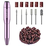 MelodySusie Electric Nail Files for Beginners, 20000RPM Nail Drill for Acrylic Nails, Compact