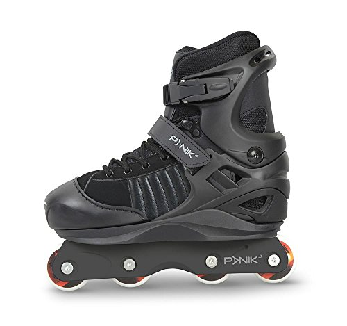 Anarchy Panik Skates Black Kids 2-5uk