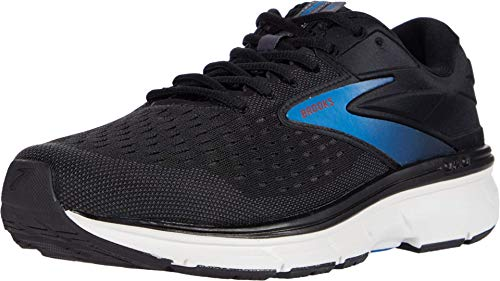 Brooks Herren Dyad 11 Laufschuh, Black/Ebony/Blue, 48.5 EU Wide