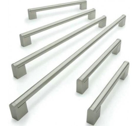 Barras de acero inoxidable para tirador de armario de cocina o baño,...