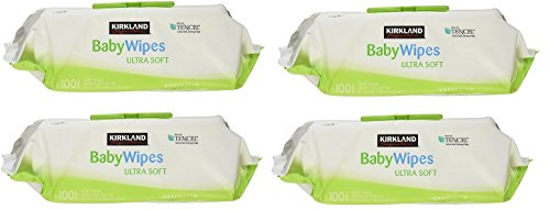 Kirkland Signature Baby Wipes, tRDARz, 4 Pack(100 Wipes)
