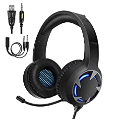 【Excellent Wide Compatibility】It works on Nintendo Switch.Support PlayStation 4,new Xbox One, PC, laptop, PSP, tablet, iPad, computer, mobile phone. Multiplatform for your maximum enjoyment without breaking the bank.Please note you need an extra Micr...