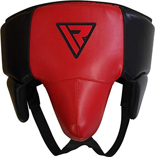RDX MMA Tiefschutz Kampfsport Boxen Herren Suspensorium Unterleibschutz Karate Kickboxen Groin Guard (MEHRWEG)