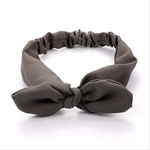 WLLBT Bohème Hairband Imprimé Hairband Femmes Rétro Cross Bow Turban Hairband Coiffe Taille unique 03