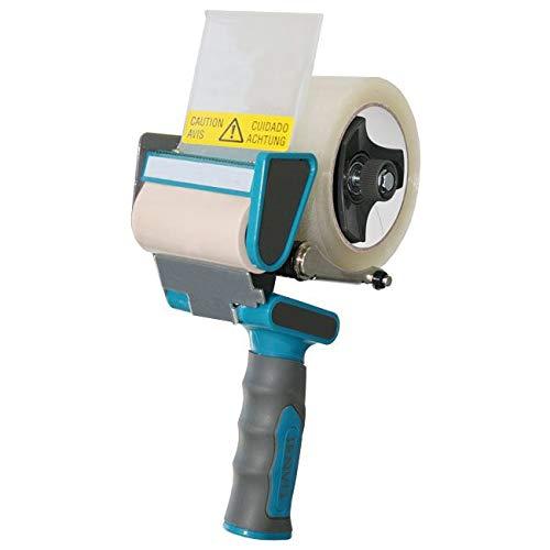 ENVO TAPE® 901080 Handabroller silent 75 mm - leises abrollen, Profi Abroller für Klebeband, 1x Paketbandabroller
