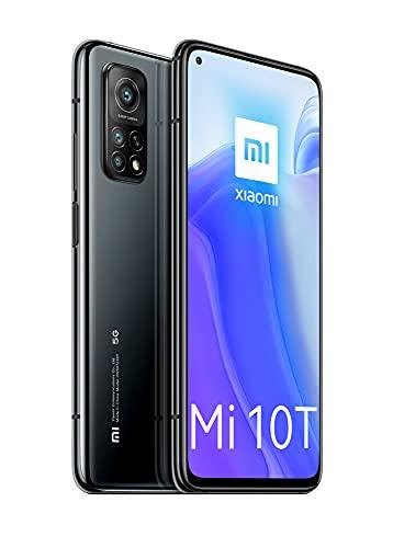 Xiaomi Mi 10T 5G グローバル版 (128GB + 8GM RAM) ■Android 10搭載 ■Google Play対応■ Triple Camera (64+13+5MP) ■ 5000mAhバッテリー ■ 6.67インチ IPS LCD, 144Hzディスプレー ■ SIMフリー ■ Dual SIM対応 ■ スマートフォン ■ 日本語対応 (Cosmic Black/コスミックブラック)
