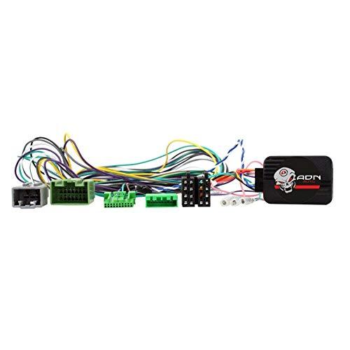 Interface Commande au volant VL3J compatible avec Volvo Avec ampli fibre 04-14 JVC