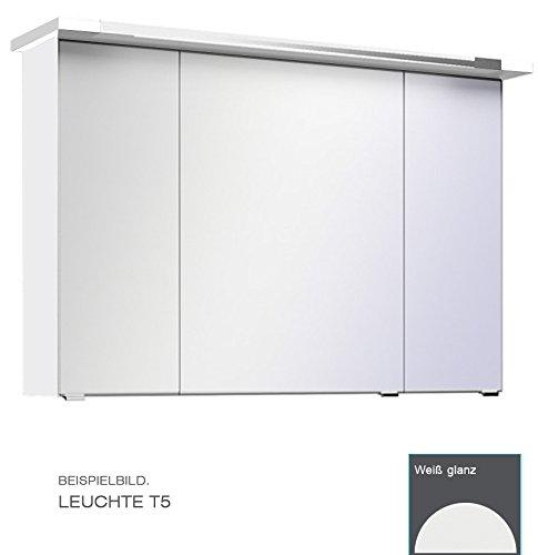 PELIPAL Trentino 770/800 Spiegelschrank/Weiß / T5 Leuchte / 75 x 72 x 20 cm/EEK: A