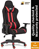 Green Soul Fabric and PU Leather Beast Gaming Ergonomic Chair
