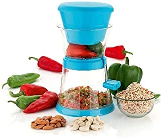 VOTEX MART Chilly & Dry Fruit Cutter with Stainless Steel Blade | Onion Cutter Chopper, Chilli Cutter, Vegetable Cutter, M...